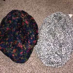2 Infinity Scarves
